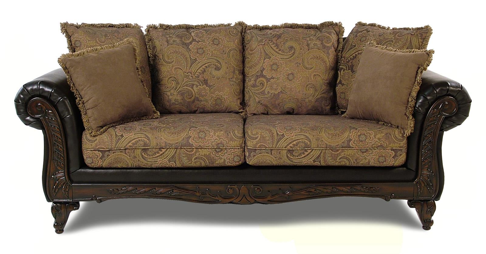 Serta Upholstery Monaco Pillow Back Sofa - Item Number: 7685 S