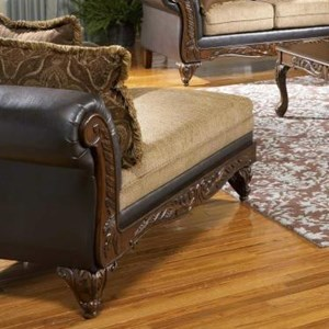 Serta Upholstery by Hughes Furniture 7900 Serta Upholstered Chaise