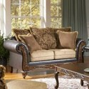 Serta Upholstery by Hughes Furniture 7900 Serta Upholstered Love Seat - Item Number: 7900LS