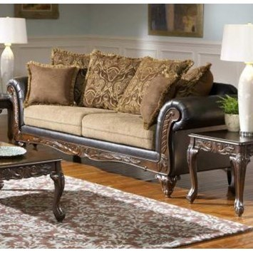 Serta Upholstery by Hughes Furniture 7900 Serta Upholstered Sofa - Item Number: 7900S