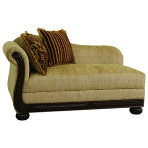 Serta Upholstery by Hughes Furniture 8500 Chaise