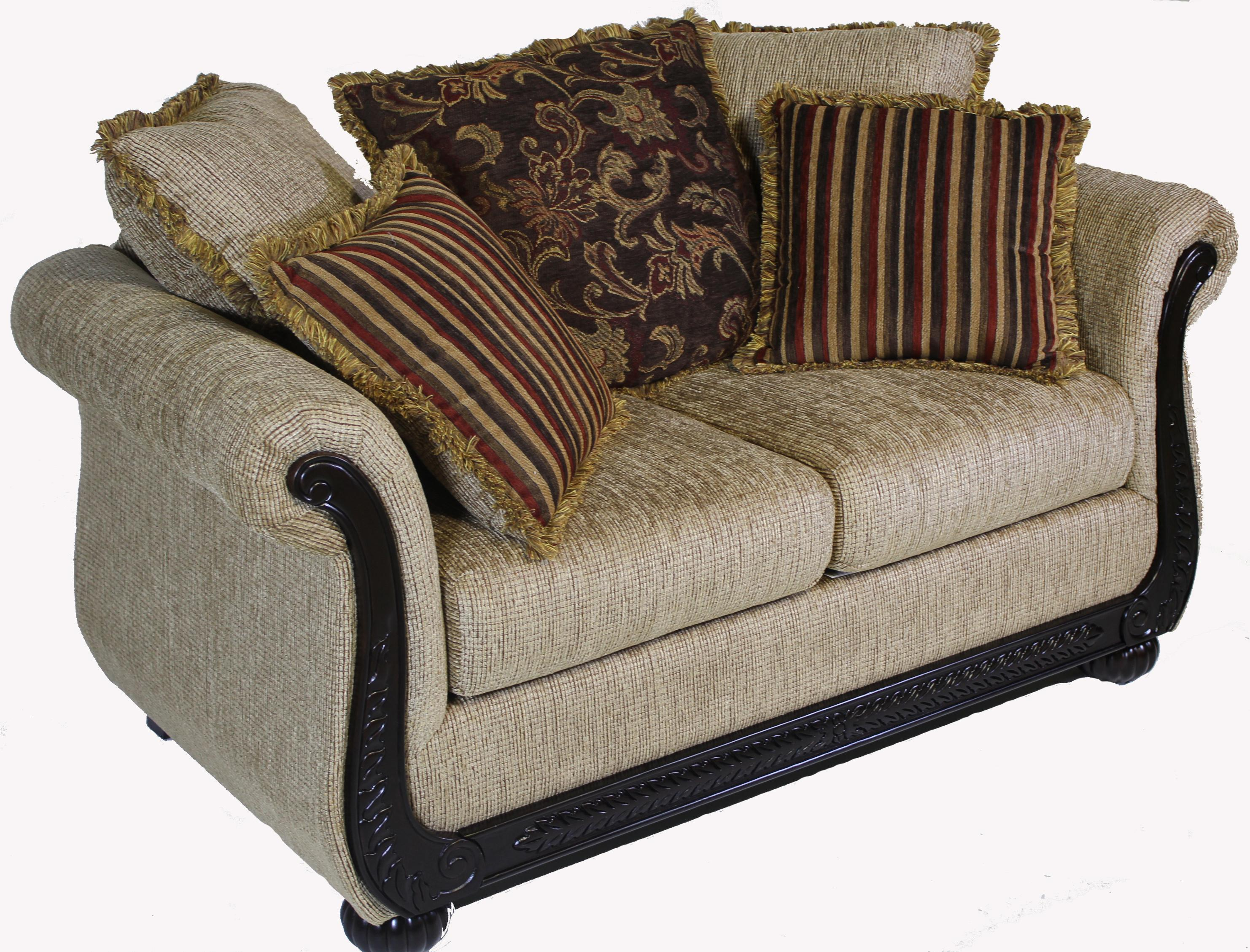 Serta Upholstery by Hughes 8500 Hughes Love Seat - Item Number: 8500LS