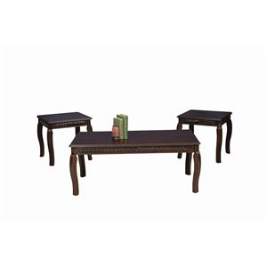 Serta Upholstery by Hughes 8500 Hughes 3 Pack of Tables