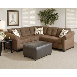 Serta Upholstery By Hughes Furniture 900 Sectional