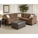 Serta Upholstery 900 Sectional - Item Number: 900-LFST+RFLS
