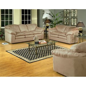 Serta Upholstery 9000 Casual Living Room Group