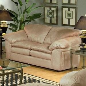 Serta Upholstery 9000 Casual Loveseat