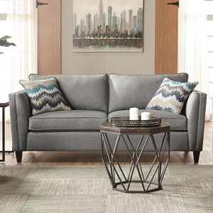 Serta Upholstery by Hughes Furniture 9300 Stationary Sofa