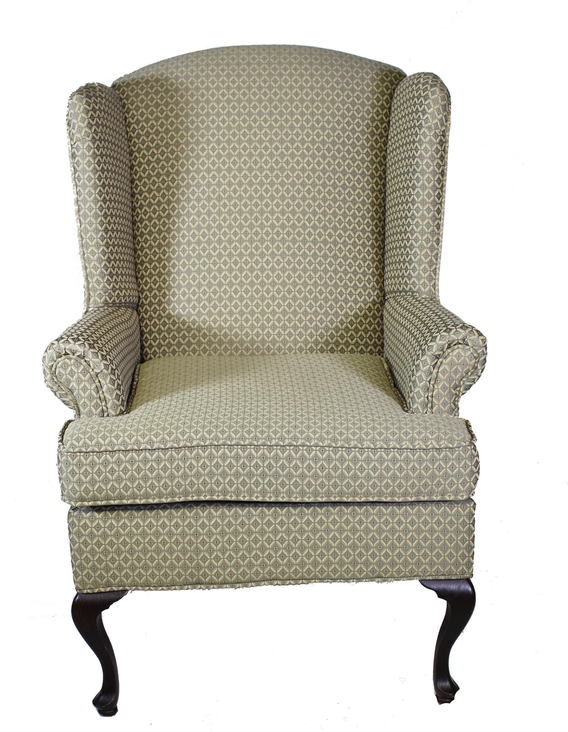 Serta Upholstery by Hughes 2200 Wing Chair - Item Number: 2200 Pewter