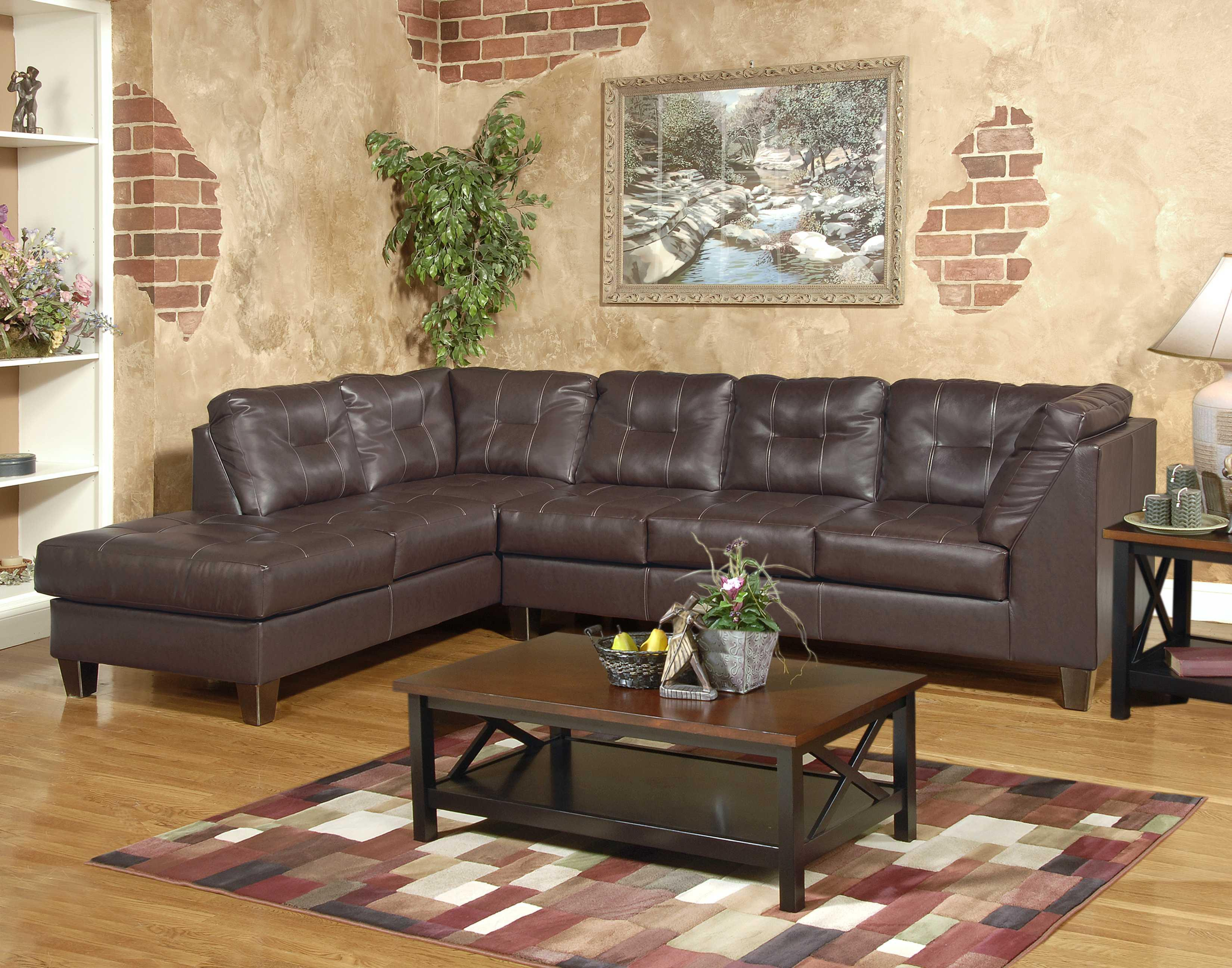 Serta Upholstery by Hughes 2500 2-Piece Sectional - Item Number: 2500
