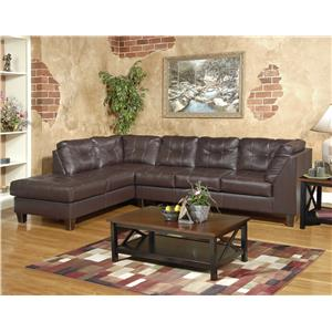 Serta Upholstery by Hughes 2500 2-Piece Sectional