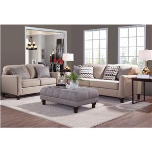 Serta Upholstery by Hughes 4050 Sofa