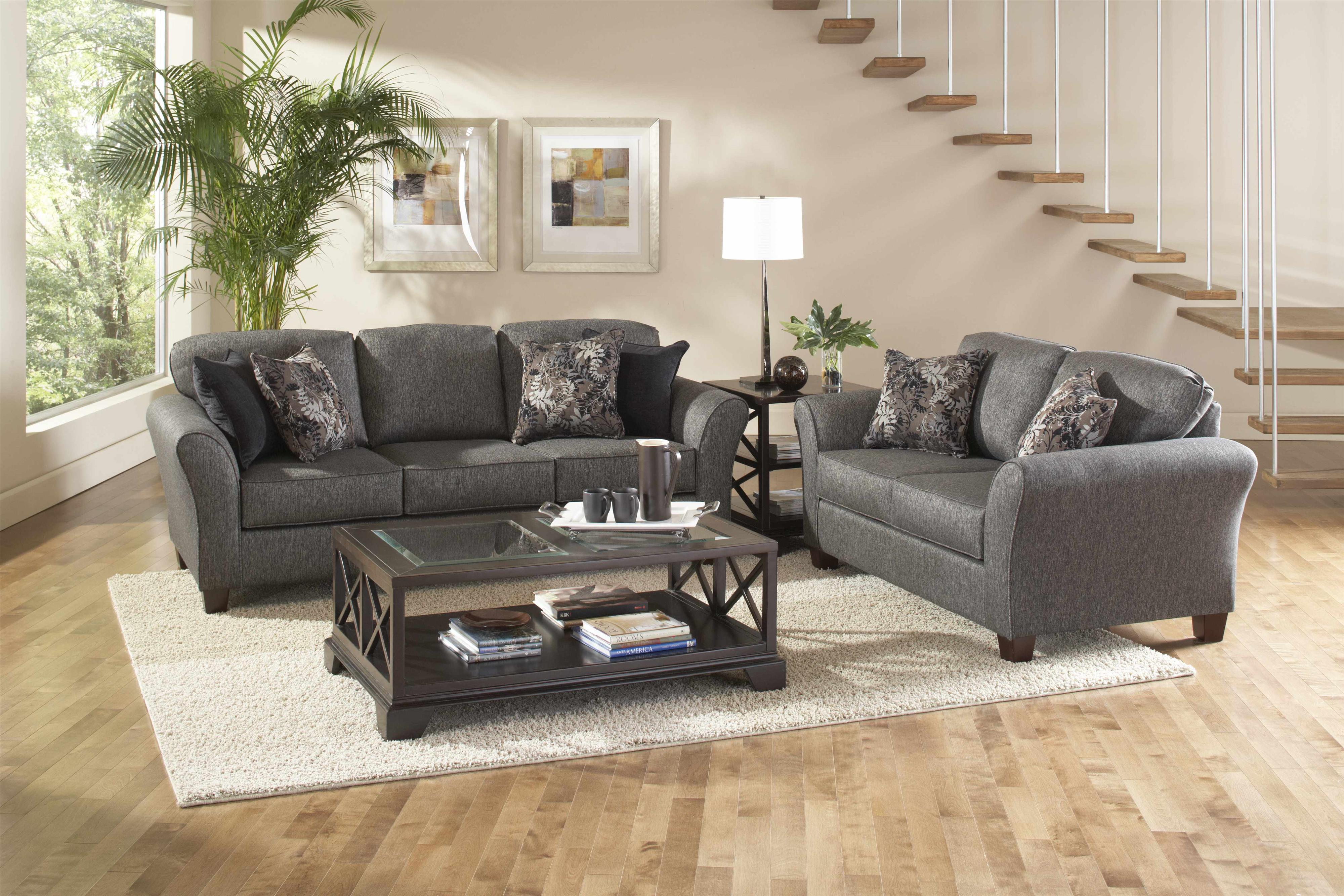 Serta Upholstery by Hughes 4600 2-Piece Sofa & Love Set - Item Number: 4600