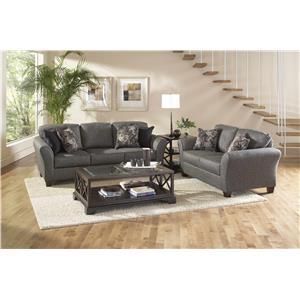 Serta Upholstery by Hughes 4600 2-Piece Sofa & Love Set