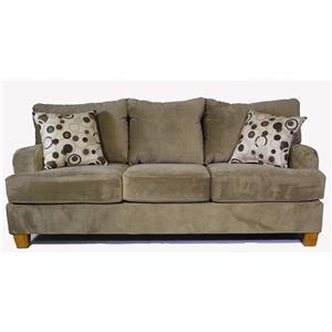 Serta Upholstery by Hughes 9200 Microfiber Sofa