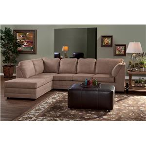 Serta Upholstery Illiana 2-Piece Chaise Sectional