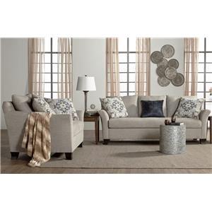 Serta Upholstery Lilou Sofa & Loveseat Set
