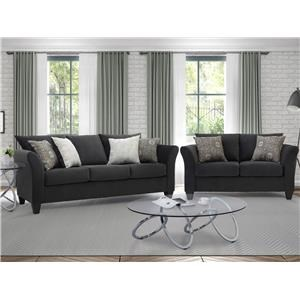 Serta Upholstery Paragon Sofa & Loveseat Set