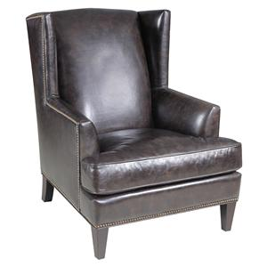 Hooker Furniture Club Chairs Traditional Wing Back Chair