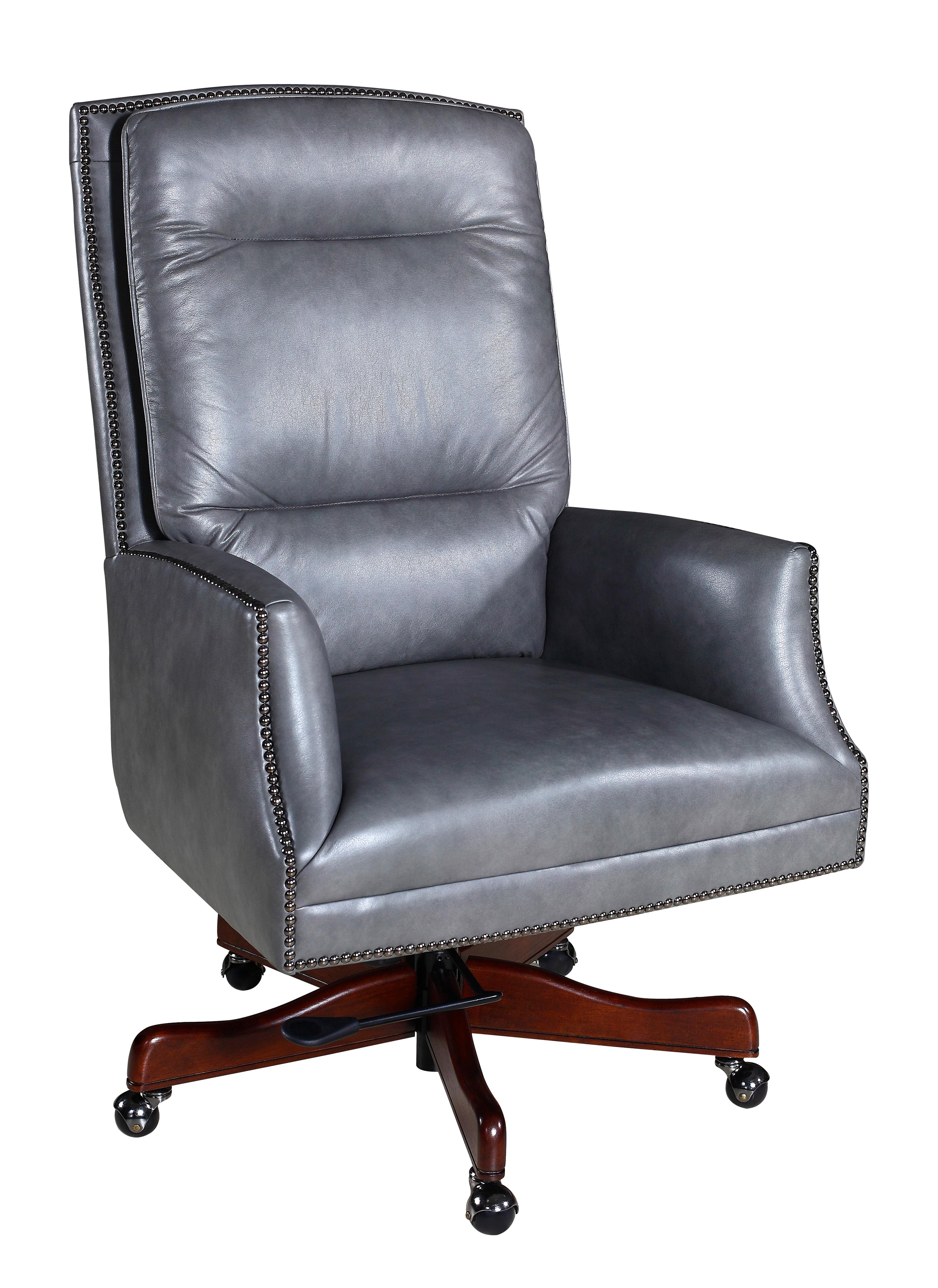 Hooker Furniture Executive Seating Contemporary Nailhead