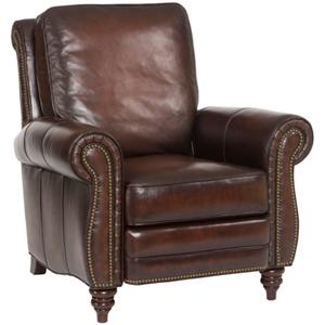 Hooker Furniture Reclining Chairs Traditional Leather Recliner  sc 1 st  Baer\u0027s Furniture & Hooker Furniture Reclining Chairs Collin Leather Recliner with ... islam-shia.org