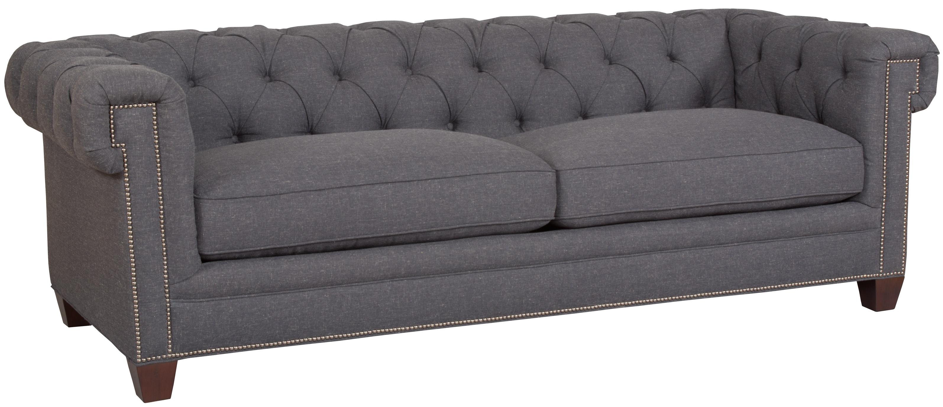 Hooker Furniture SS195 020 Transitional Chesterfield Sofa with