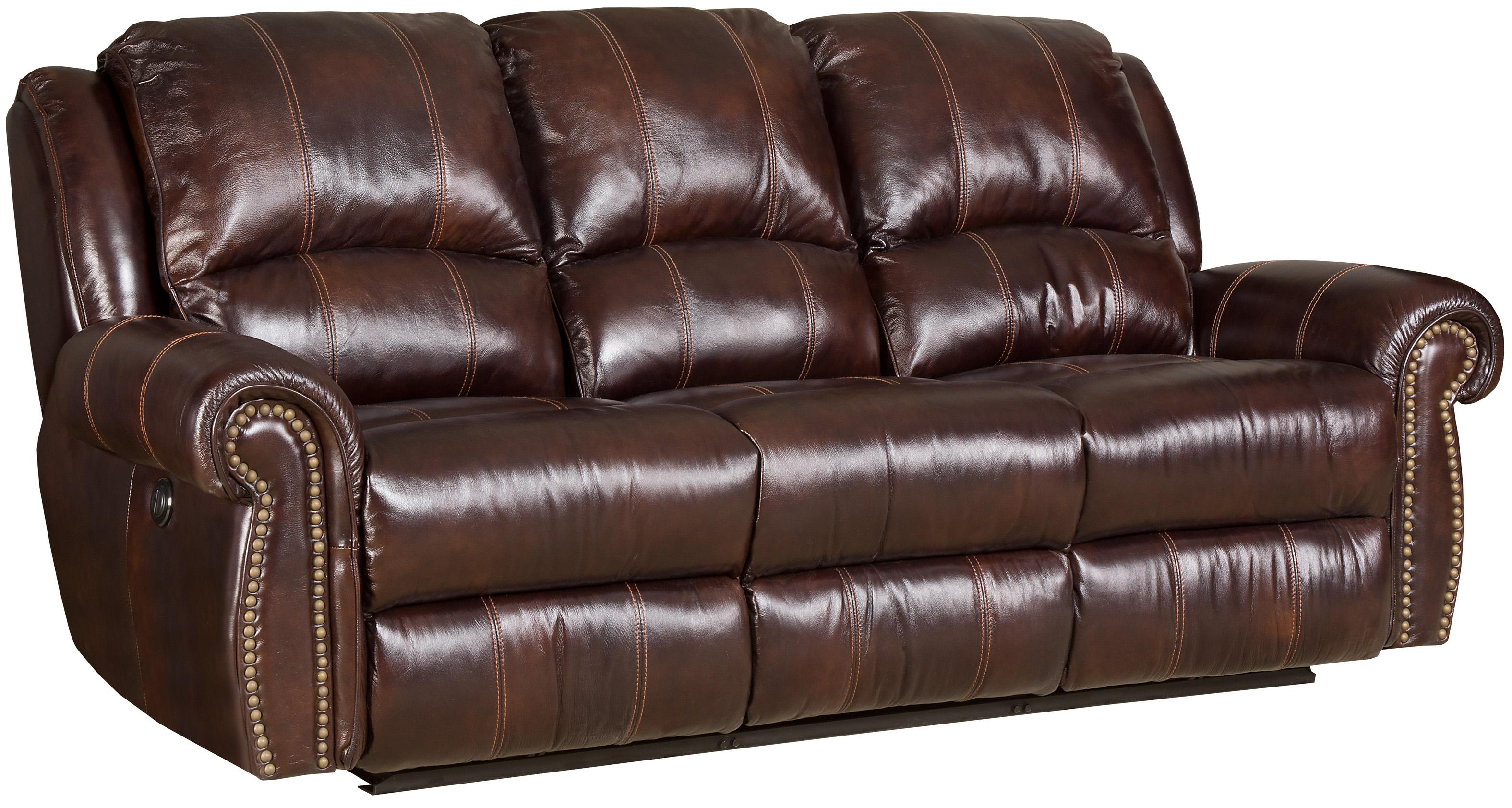 Hooker Furniture SS611 Power Sofa With 2 Recliners - Item Number: SS611-PR-03-068
