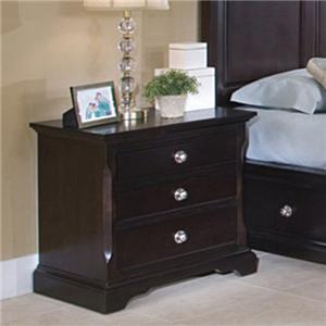 SG French Quarter 3 Drawer Youth Nightstand
