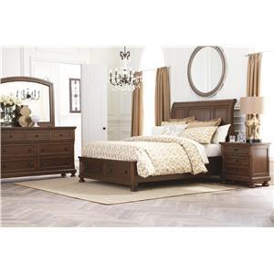 SG Arlington Queen Storage Bed