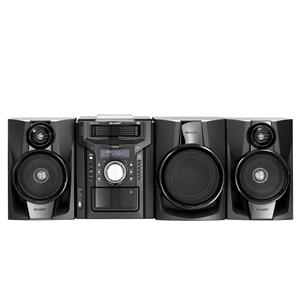 Sharp Electronics Shelf Stereo Systems Mini Component Shelf System with iPhone® / iPod® Dock