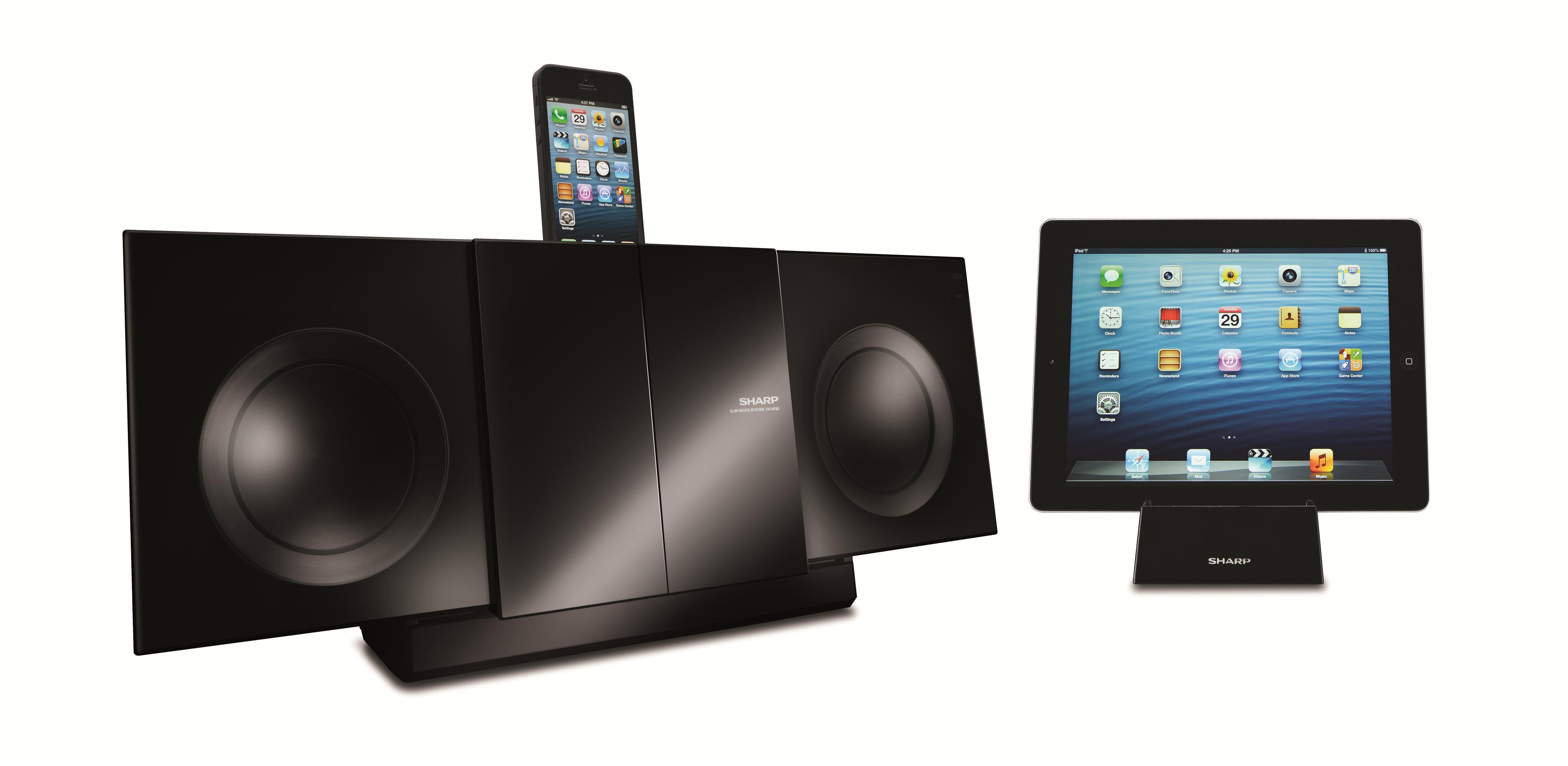 Sharp Electronics Shelf Stereo Systems Audio Slim Micro System - Item Number: DK-KP85P