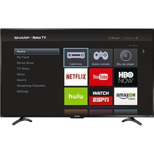 """Sharp Electronics Sharp HD  55"""" LED ROKU SMART TV 1080P"""