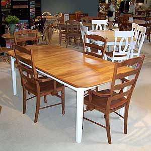 Shermag Portfolio Oval Table With Chairs