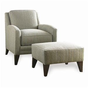 Sherrill Casual Lounge Chair & Ottoman
