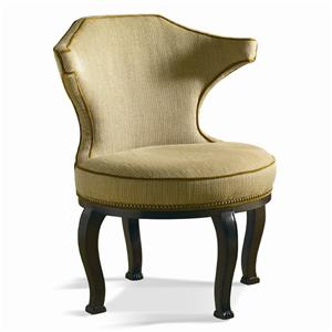Sherrill Dan Carithers Carved Chair
