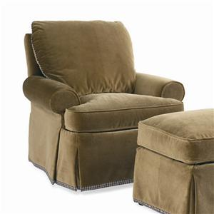 Sherrill Dan Carithers Lounge Chair