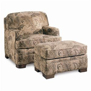 Sherrill Design Your Own Chair & Ottoman