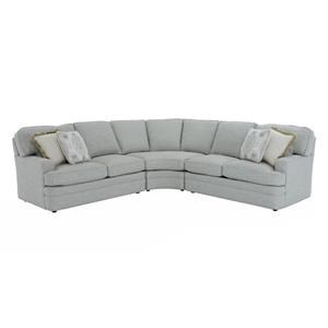 Sherrill Design Your Own 3 Pc Sectional Sofa