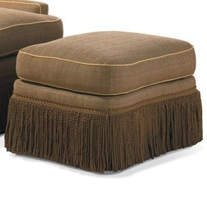 Sherrill Traditional Traditional Ottoman