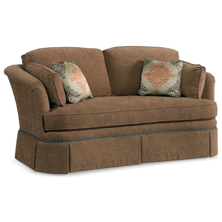 Loose Pillow Back Sofa: Sherrill Traditional 2212L Loose Back Cushion Sofa With