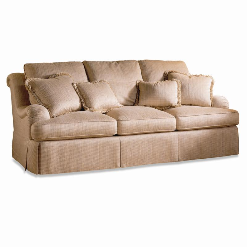 Sherrill Traditional Deep Seated Sofa Baer 39 S Furniture