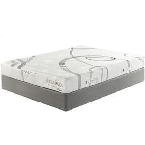 Sierra Sleep 8 Inch Plush Memory Foam Queen Plush Mattress Set
