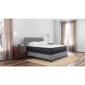 "Sierra Sleep Bonita Springs Firm M753 Twin 15 1/2"" Firm Pocketed Coil Mattress Set"