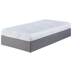 """Sierra Sleep Kids Memory Foam Twin 6"""" Memory Foam Mattress Set"""