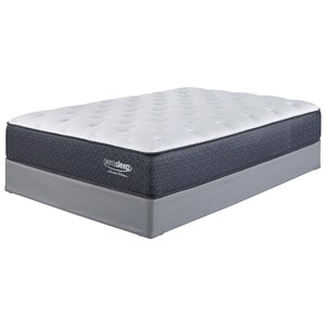 "Sierra Sleep Limited Edition Plush Queen 13"" Plush Mattress and Adj Base"