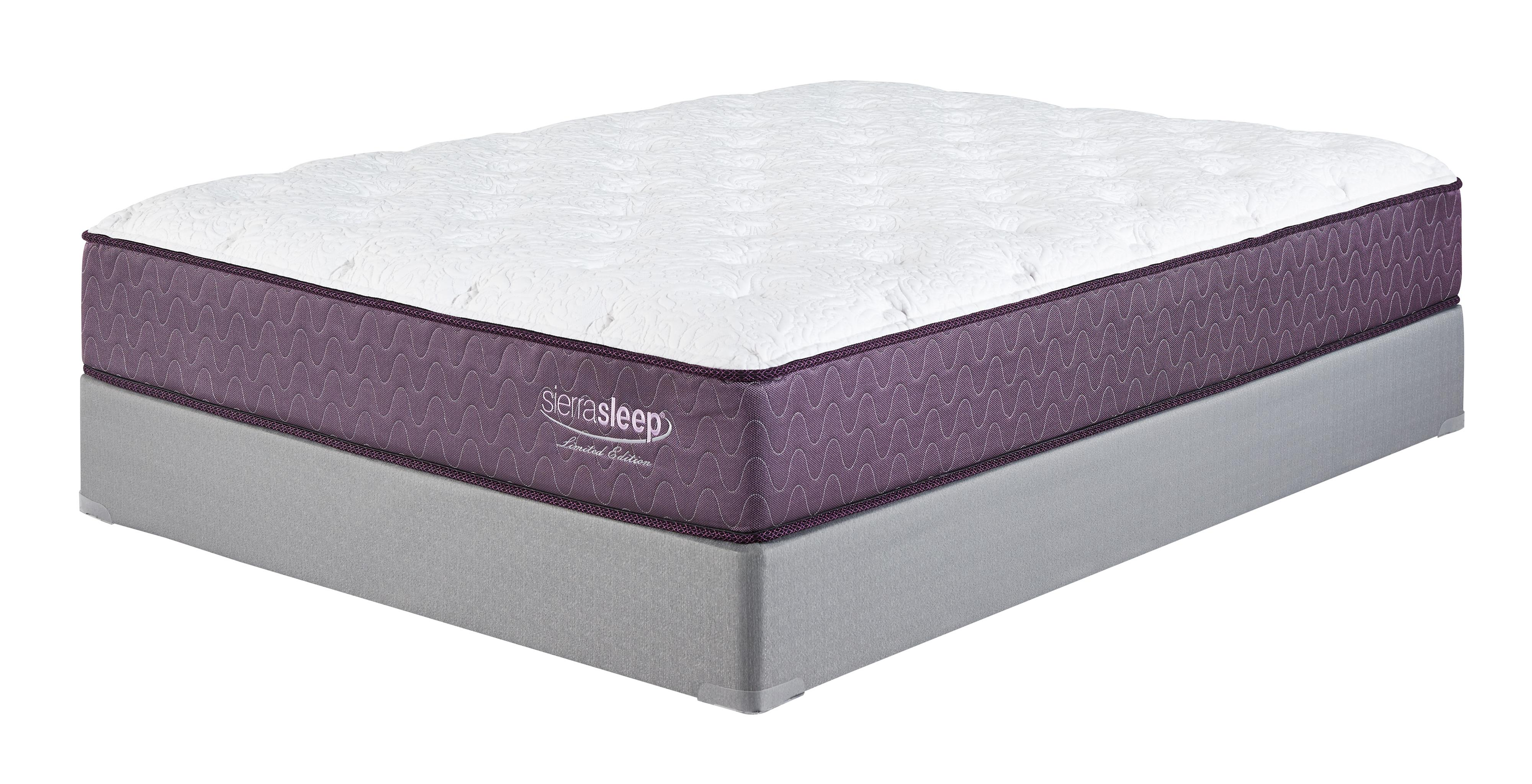 Sierra Sleep Limited Edition King Plush Mattress Set - Item Number: M96741+2xM81X42