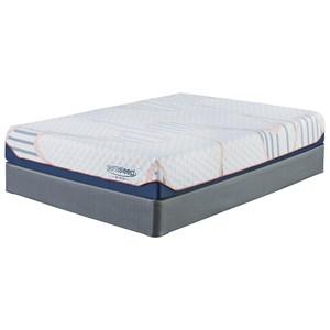 """Sierra Sleep M757 MyGel 10 King 10"""" Gel Memory Foam Mattress Set"""