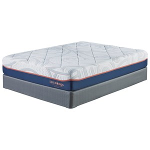 "Sierra Sleep M758 MyGel 12 Queen 12"" Gel Memory Foam Mattress Set"