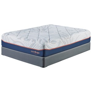 "Sierra Sleep M759 MyGel 14 Queen 14"" Gel Memory Foam Mattress Set"