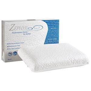 Sierra Sleep M82511P Memory Foam Pillow Choice Side Gel Memory Foam Pillow